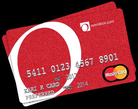 Overstock mastercard promo code