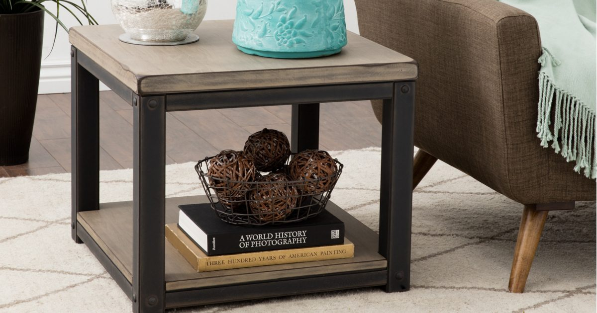 Outstanding How To Decorate With A Large End Table Overstock Com Bralicious Painted Fabric Chair Ideas Braliciousco