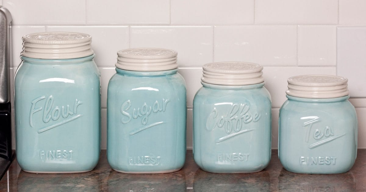 Tips on Buying Kitchen Storage Canisters - Overstock.com Ideas For Clear Kitchen Canisters on clear stools for kitchen, spray paint a tray for kitchen, acrylic canister sets kitchen, clear canisters with lids, canister sets for kitchen, clear plastic kitchen canisters, clear canisters in food,