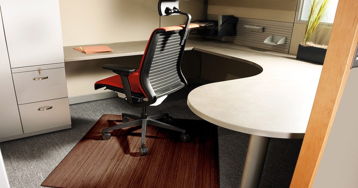 How To Pick A Mat To Use Under An Office Chair Overstock Com