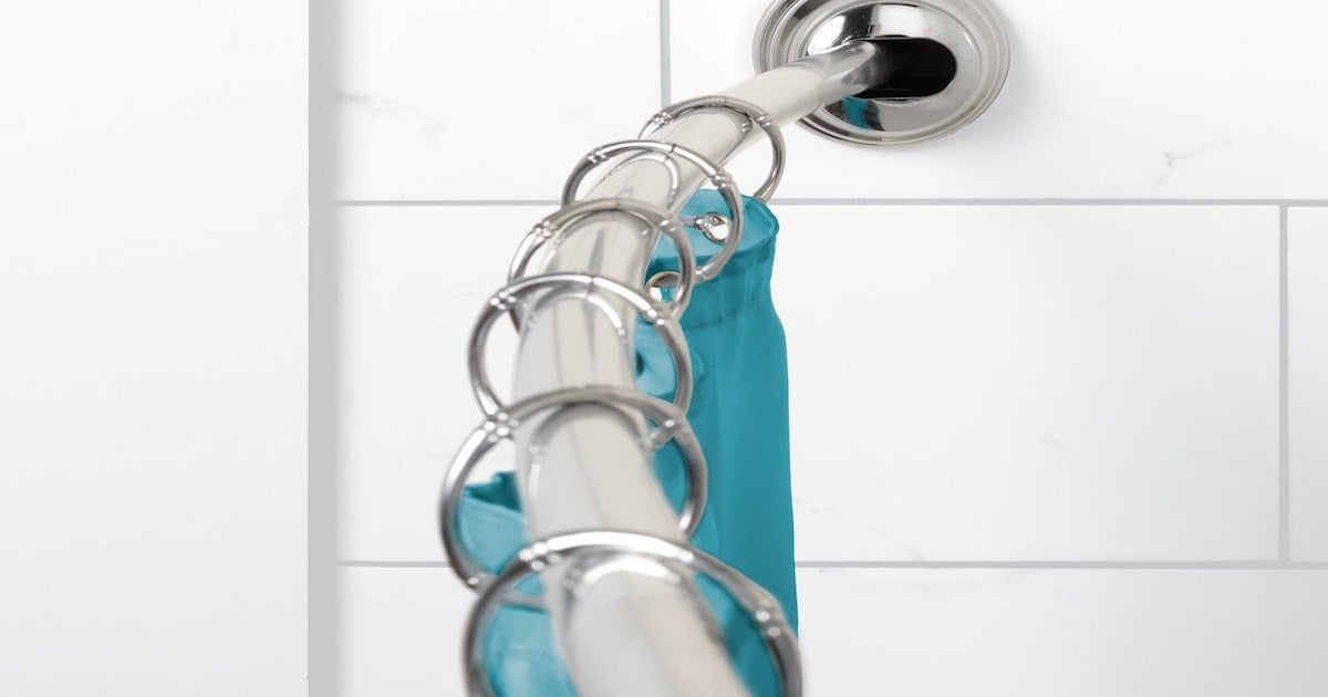 How To Install Curved Shower Rods